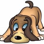 4035830-sniffing-dog–gekleurde-cartoon-illustratie-als-vector